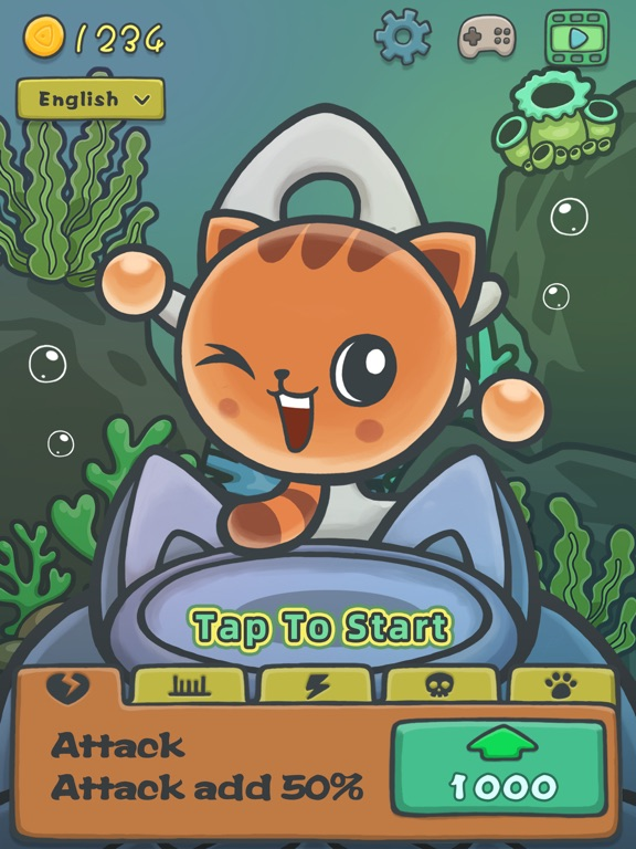Cat Water Adventure - POP Fish screenshot #1