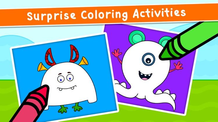 Kidlo Coloring Games for Kids screenshot-4