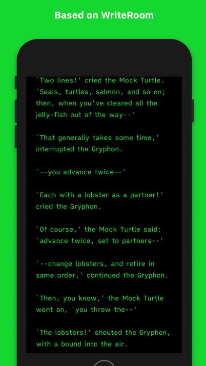Writemator - Plain Text Editor