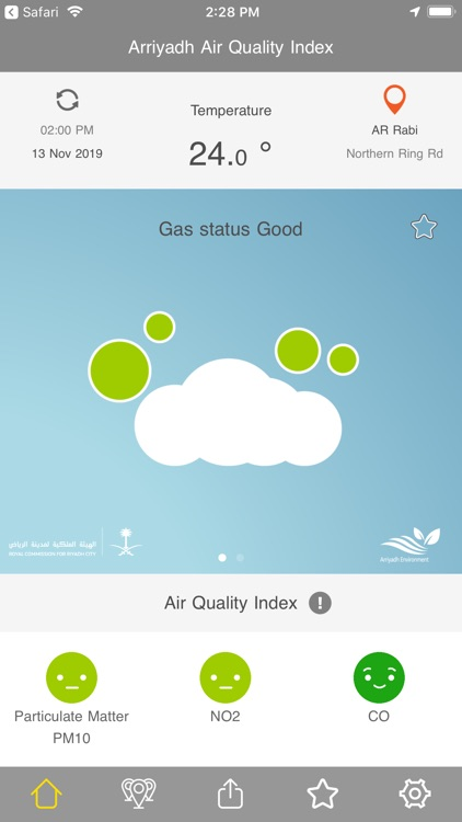 جودة هواء الرياض screenshot-5
