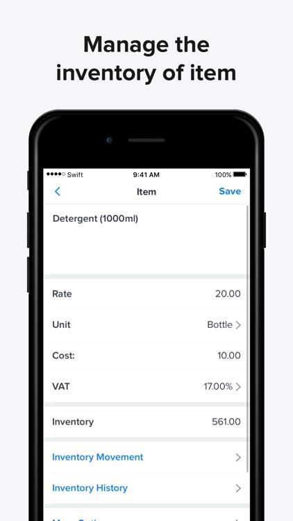 Swift Invoice - Invoice Maker screenshot-8