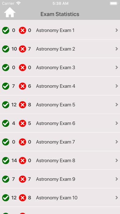 High School Astronomy Trivia Screenshot