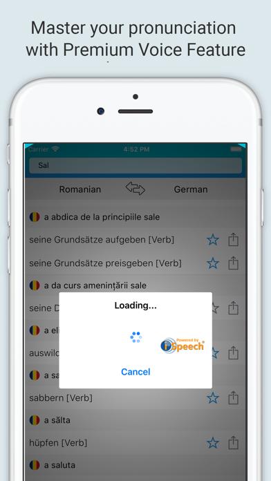 German Romanian Dictionary + screenshot 4