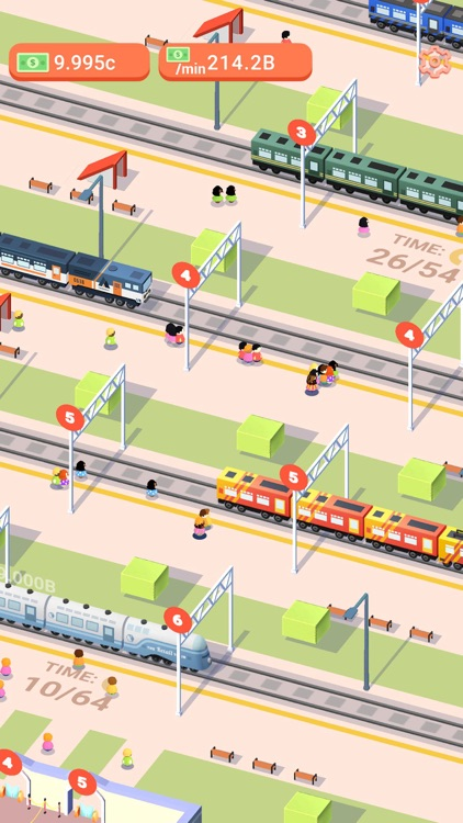 Trains Tycoon 3D