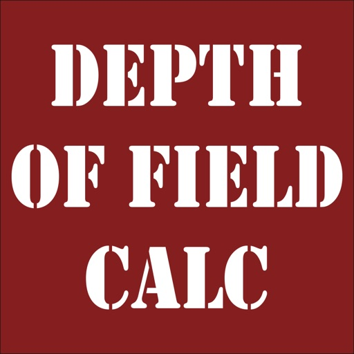 Depth Of Field Calculator iOS App
