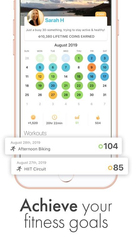 PK Rewards Workout Tracker screenshot-3