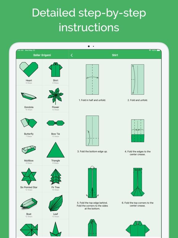 Screenshot #6 pour Origami en dollar