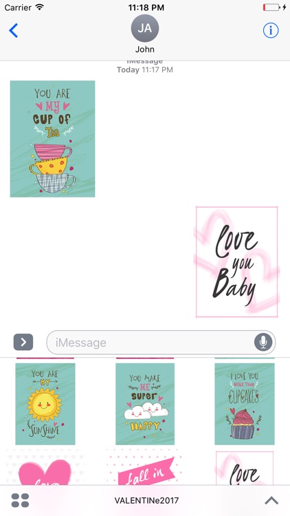Valentines Hand Drawn Stickers screenshot-4