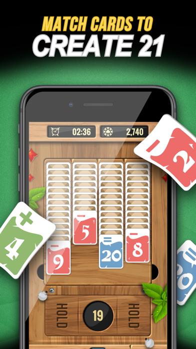 Zone 21 - Math Solitaire screenshot 4