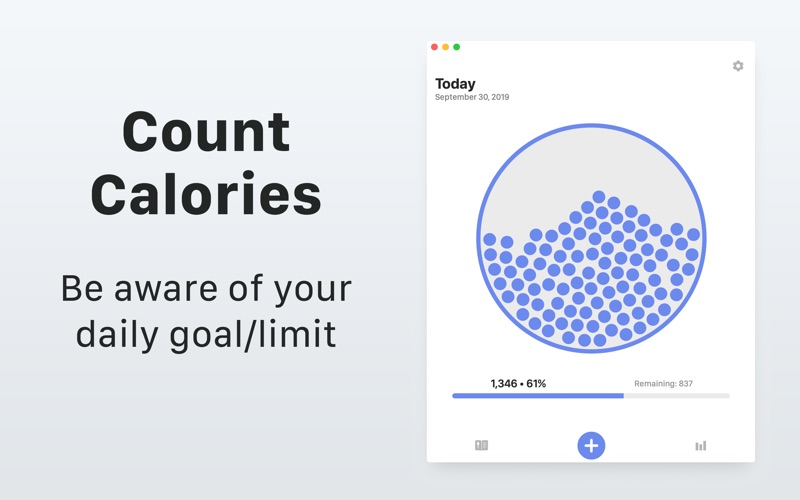 Calory: Daily Calorie Counter screenshot 1