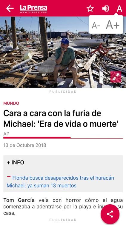 La Prensa para iPhone screenshot-3
