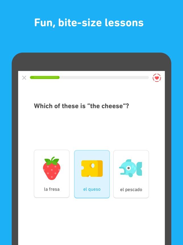 duolingo app descargar gratis