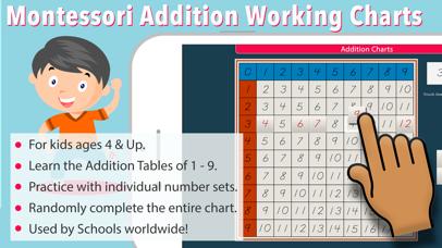 Montessori Addition Charts screenshot 1