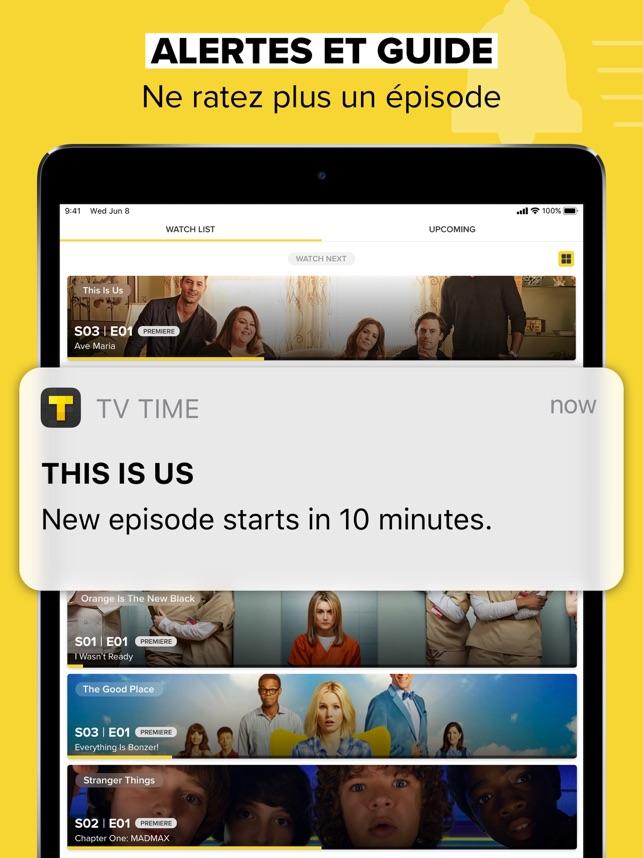 TV Time (TVShow Time) Capture d'écran