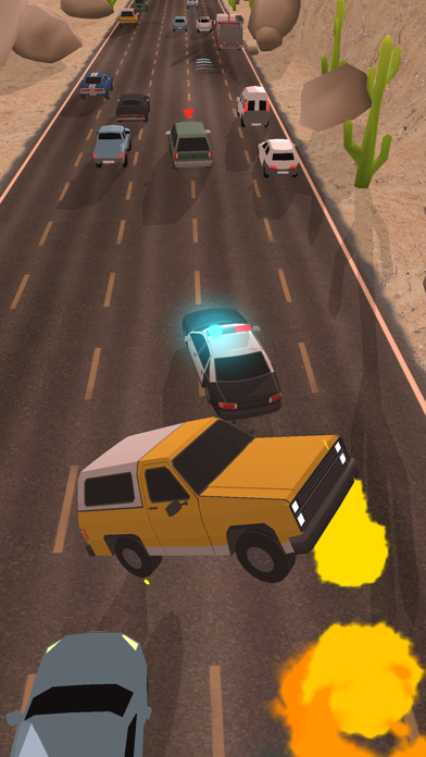 Police Chase - Hot Highways screenshot 3