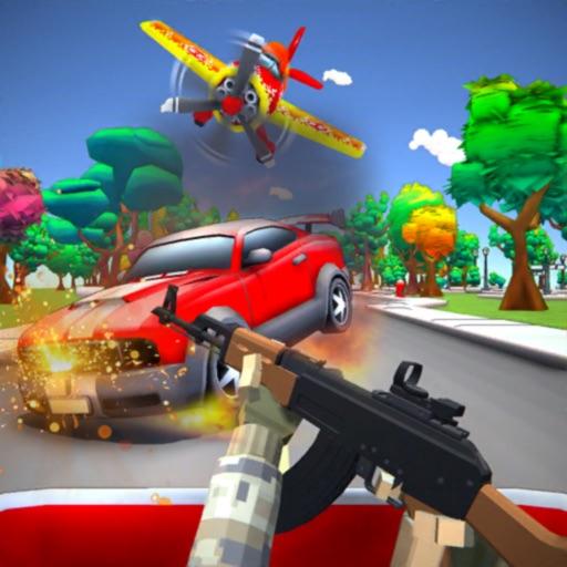 Road Rage: Gun Shooting Escape