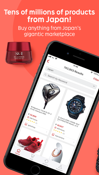 RakutenGlobal Market Shopping - 窓用