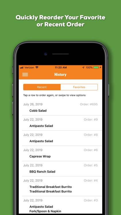Salad and Go Ordering App screenshot-6