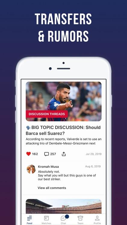 Blaugrana Live: unofficial app screenshot-4