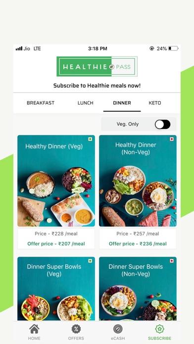 Healthie.in-Healthy Food Order screenshot three