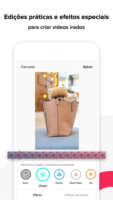 Screenshot for TikTok in Portugal App Store