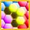 Gems Hexa: bloc Jeux Puzzle