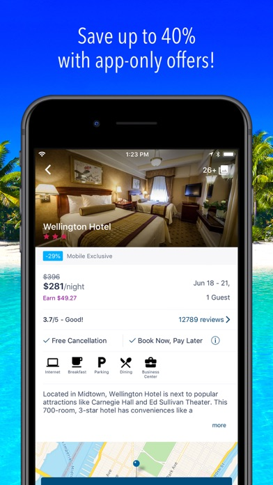 Orbitz Hotels Flights review screenshots