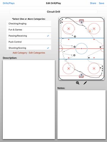 Hockey ClipPad - náhled