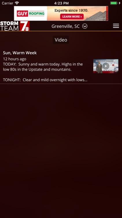 WSPA Weather screenshot-3