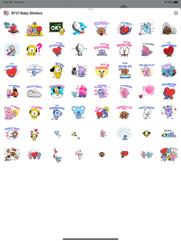 BT21 Baby Stickers screenshot 5