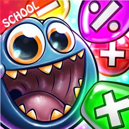 Grade 1 - 5 Monster Math Games