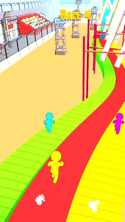 Stickman Race 3D screenshot-4
