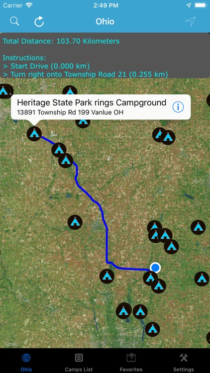 Ohio – Campgrounds & RV Parks