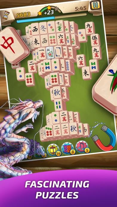 Mahjong Village screenshot one