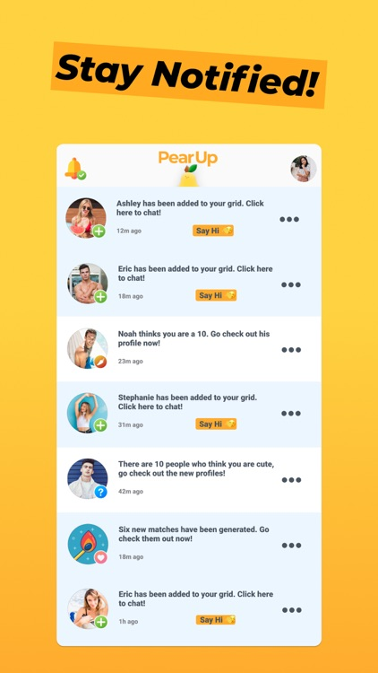 PearUp - Chat & Dating App