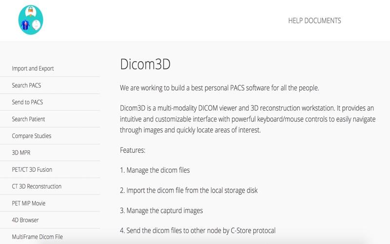 Dicom3D - Easy and Powerful скриншот программы 5