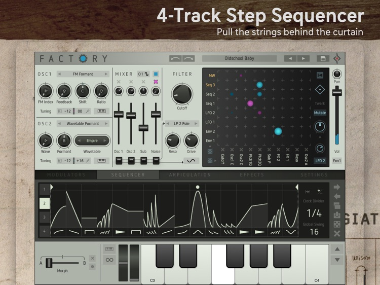 Factory - Modular Synthesizer screenshot-3