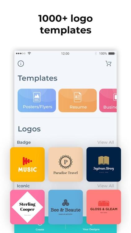 Logo Maker- Create a design screenshot-0