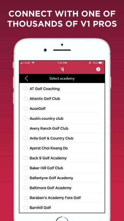 V1 Golf screenshot-4