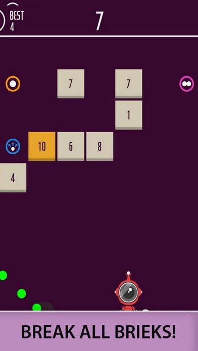 Ball Bricks Breaker Number 204 screenshot 3