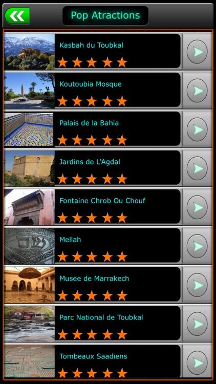Marrakech Offline Map Guide