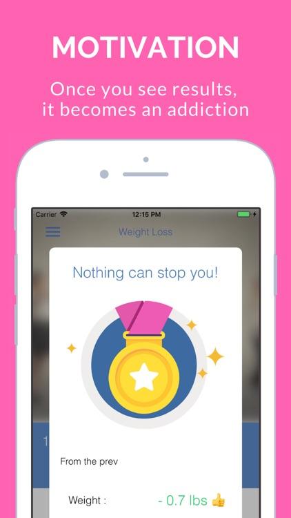 Weight Loss Simple Tracker App screenshot-5