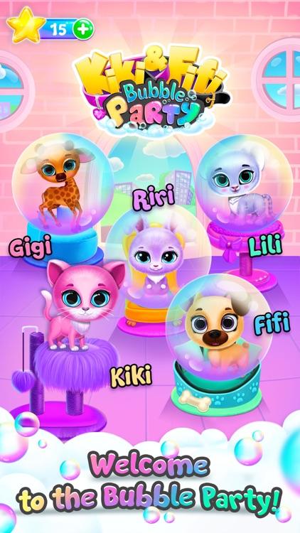 Kiki & Fifi Bubble Party screenshot-3