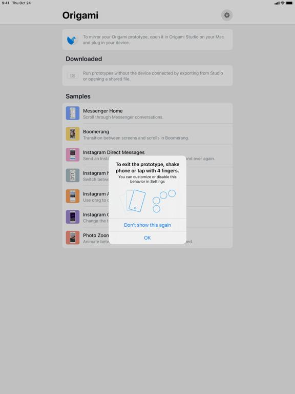Screenshot #5 pour Origami Live