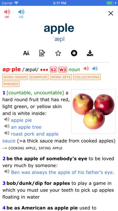 P2P Dictionary of English PRO Screenshot