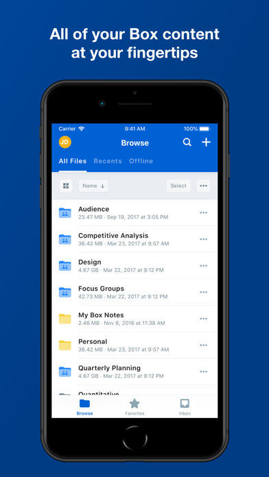 messages.download Box — Cloud Content Management software