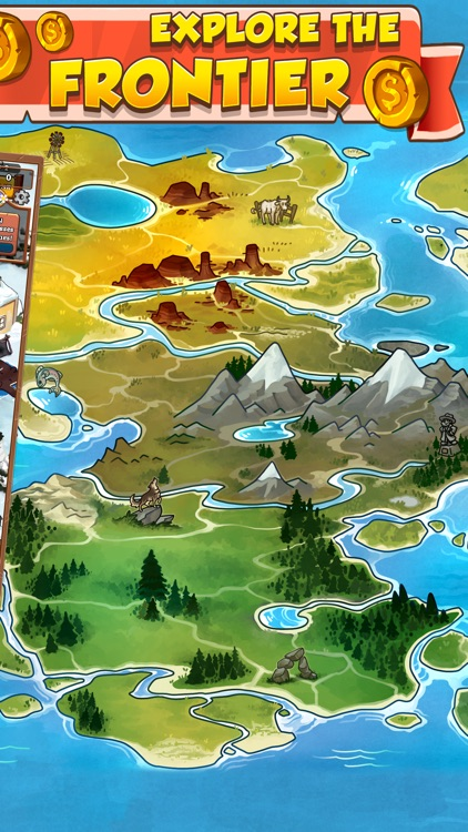 Idle Frontier: Western Tapper screenshot-4