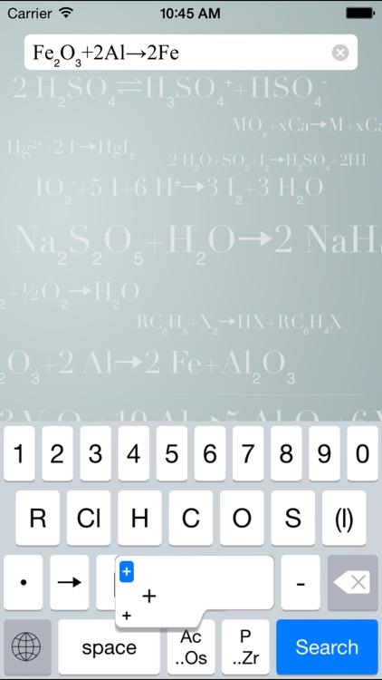 Chemistry Keyboard
