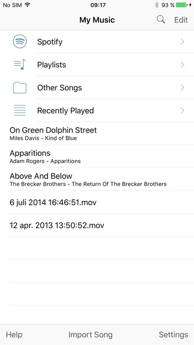 Screenshot for Amazing Slow Downer in Sweden App Store