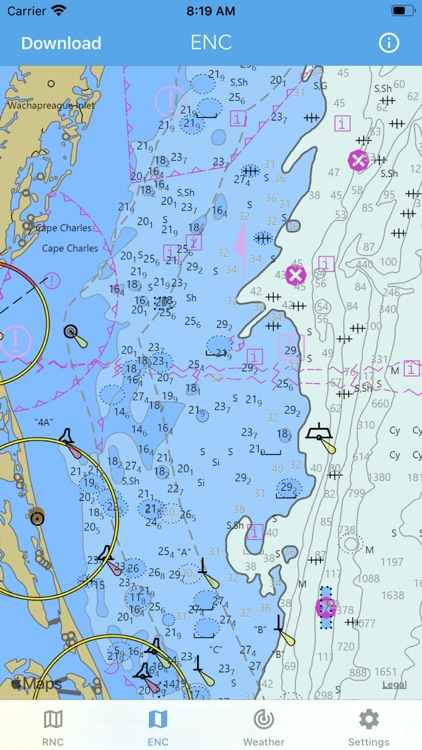Nautical Charts & Maps screenshot-3